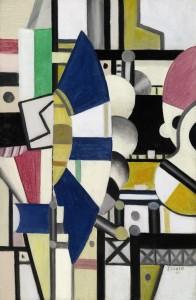 Fernand Leger - La Roue Bleue, état definitif