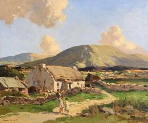 Maurice Canning Wilks ARHA RUA (1911-1984) - Near Doochary, Co. Donegal (6,000-9,000).