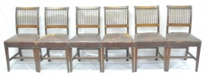 A set of Cork 11-bar chairs.