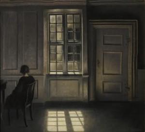 Vilhelm Hammershøi's Interior, Strandgade 3
