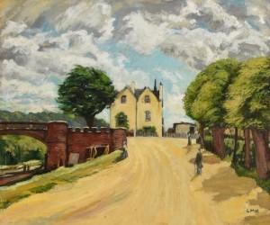 Letitia Marion Hamilton RHA (1875-1964) Yellow Country Lane  (2,000-3,000).