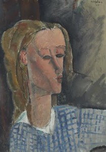 Amadeo Modigliani (1884-1920) - Beatrice Hastings painting in 1916 sold for $16,069,000.