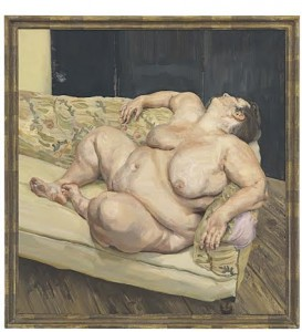 Lucian Freud - Benefits Supervisor Resting made a world record $56,165,000