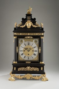 The Medici Tompion, circa 1969, ebony and gilt brass mounted Grande Sonnerie table clock, presented by William III as a gift to Cosimo de Medici, £4,500,000 courtesy of Carter Marsh & Co.