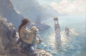 George Russell Æ (1867-1935) Apparell'd in Celestial Light