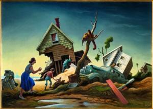 Thomas Hart Benton - Flood Disaster