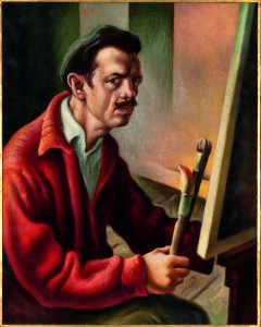Thomas Hart Benton - Self-Portrait