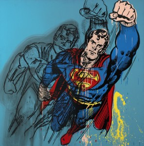 Andy Warhol's Superman sold for $14,362,000