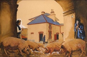 Seán Keating PRHA HRA HRSA (1889-1977) IRISH FREE STATE BACON, 1928 (15,000-20,000).