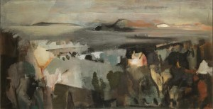 George Campbell RHA, RUA 1917-1979 MEMORY OF HOWTH (2,000-3,000).