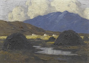 The Pool in the Bog by Paul Henry