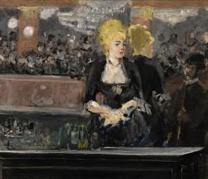 ÉDOUARD MANET (1832 – 1883) LE BAR AUX FOLIES BERGÈRE