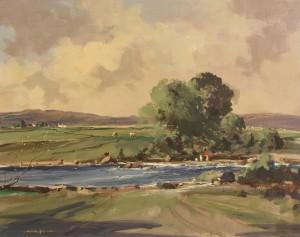 George Gillespie RUA (1924-1996) River Derg  (2,000-3,000)