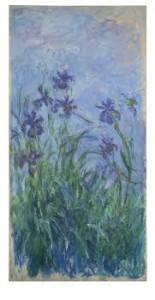 Claude Monet (1840-1926) Iris mauves (£6-9 MILLION) © Christie's Images Limited 2015