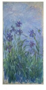 Claude Monet (1840-1926) Iris mauves