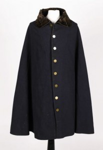 The Duke of Wellington's cloak from the Waterloo campaign.