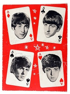 a signed Beatles 1964 UK tour programme at Whytes.