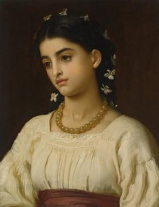 Frederic, Lord Leighton - Catarina -sold for £233,000.