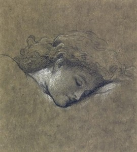 Frederic, Lord Leighton - Study for Flaming June - sold for £167,000.