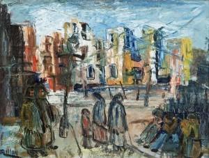 Gerard Dillon (1916 - 1971) Belfast after the Blitz