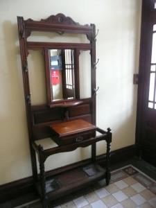 A hall stand.