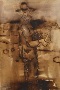 Gerard Dillon (1916-1971) Aran Island Character  (1,500-2,500).
