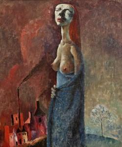 Colin Middleton RHA MBE (1910 - 1983) The Refugee (1944)