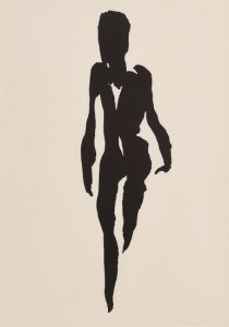 Naked Woman - limited edition litho by Louis le Brocquy (1,750-2,500)