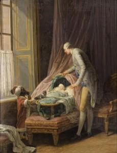 Louis-Phillippe, duc de Valois au Berceau by Nicolas Bernard Lepicie (150,000-200,000).