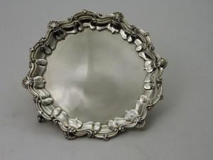 A Cork Republican silver salver.