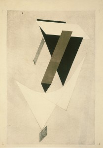 El Lissitzky - Proof for a Proun, 1923