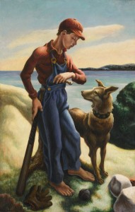 Thomas Hart Benton, T.P. and Jake.