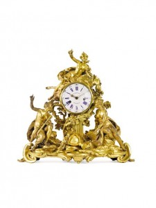 A Large Louis XVI ormolu mantle clock (Property from a Distinguished Private Asian Collection)