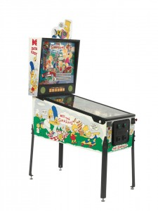 Circa 1990 The Simpsons Data East Pinball Machine