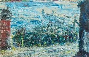 Jack Butler Yeats RHA (1871 - 1957)The Old Landing Place (1943) (25,000-35,000)