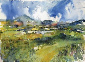 'Wicklow Landscape 2015' by Barbara Ellison
