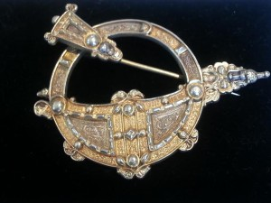 A Tara Brooch from the 1870's by Waterhouse, Dublin (2,100 at Cobwebs)