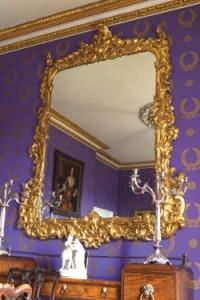 A monumental George III giltwood mirror (15,000-25,000).