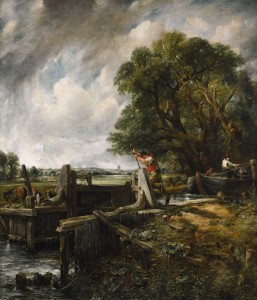John Constable - The Lock.