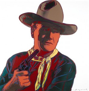 Cowboys and Indians The complete set, comprising ten screenprints in colours, 1986 (£130,000-180,000)