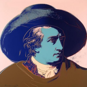 Goethe The complete portfolio, comprising four screenprints in colours, 1982 (£60,000-80,000).