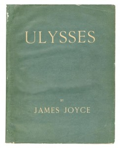 This first edition of Ulysses was sold at Bonhams, they are hoping to find something similar in Waterford.