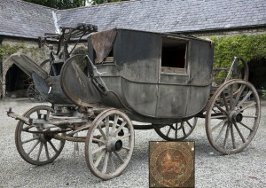 A rare early 19th century full size road/family coach (20,000-30,000).
