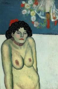 La Gommeuse - Pablo Picasso