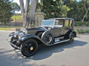 Harold Lloyd 1924 Rolls Royce