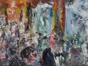 JACK BUTLER YEATS, R.H.A. THE TALKERS )£150,000-250,000)