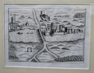 The Abbey The Castle of Askeaton from T. Staffords Pacata Hibernia 1633