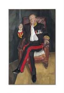 Lucian Freud - The Brigadier