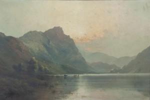Alfred de Breanski Junior (1877 - 1957) Early Morning, Derwentwater (3,000-4,000).