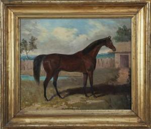 SAMUEL SPODE (1798-1872) 'Gladiateur' (1,000-2,000).